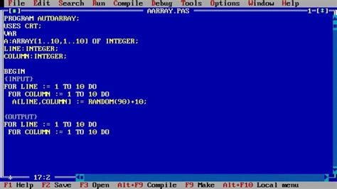 Turbo Pascal - Windows 10 Download