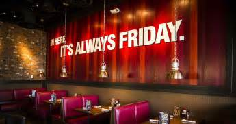 TGI Fridays - 14 Things You Didn't Know About TGIF - Thrillist
