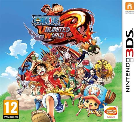 One Piece: Unlimited World Red - Nintendo 3DS ROM & CIA