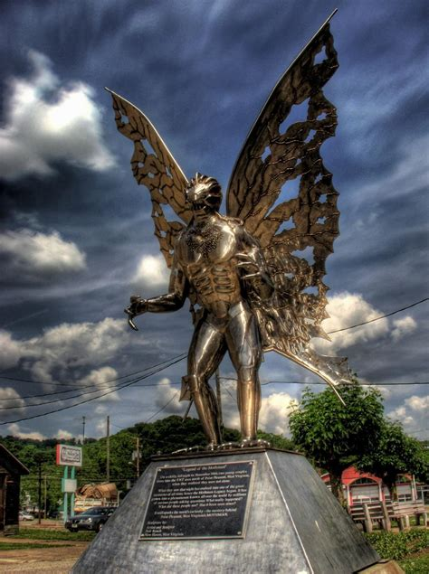 This Website Has Moved - Mothman Statue