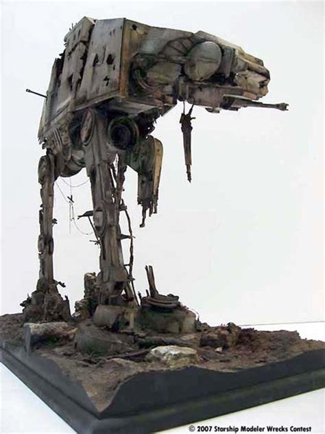Star Wars AT-AT Wins Modeling Contest - Geekologie