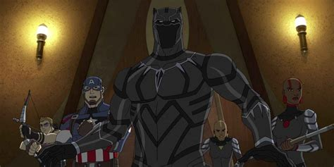 Black Panther Takes Over Next Season of Avengers Animated
