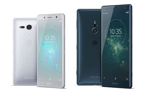 Sony's Xperia XZ2 and XZ2 Compact Look Awesome