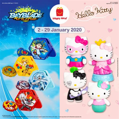 McDonald's Happy Meal Toys Jan 2020 - CouponMalaysia