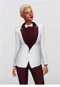 Bow-tie suit for F at Rusty Nail » Sims 4 Updates