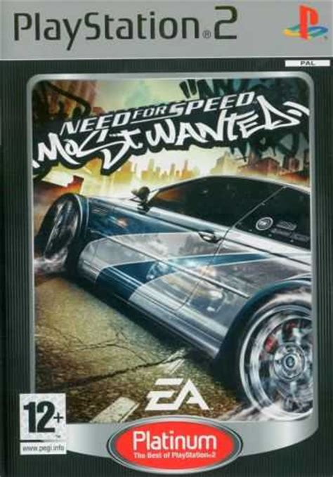 Need for speed: Most Wanted (Platinum) - PS2