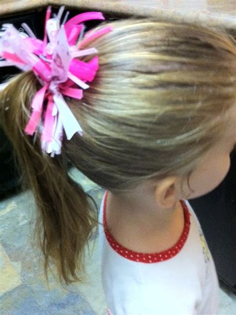 Scrap Ribbon Hair Tie - Mine for the Making