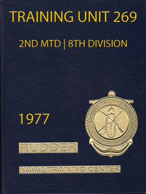 Navy Boot Camp Yearbook 1977 Training Unit 269   GG Archives
