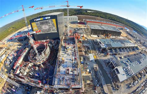 ITER fusion reactor is 50% complete