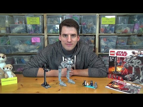 LEGO Star Wars 75153 AT-ST Walker from Rogue One [Review