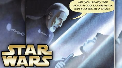 How Count Dooku killed Sifo Dyas and What he did with his
